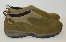 Merrell Womens Green Suede Hiking Shoes Size 7