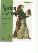 Spring in Action - 2nd Edition - Craig Walls - SC - 2008  Hanning 978-1933988-39