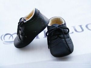 NEW Baby Boy **White Black Brown** Formal PU LEATHER Shoes 0-6 months Size 1