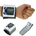 Digital LCD Wrist Blood Pressure Monitor & Heart Beat Rate Pulse Meter Measure
