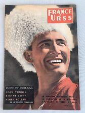 FRANCE-URSS de Juin 1954 Numéro 105