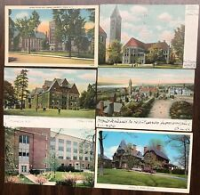# T2165    CORNELL  UNV.,  ITHACA, N.Y.  POSTCARD LOT,   6   DIF. CARDS