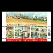 Belgium 2006 - Idyllic Wallonia Art Painting Architecture - Sc 2157 Mnh