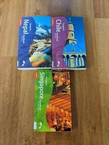FOOTPRINTS Travel Guides: Lot of (3) Travel Guide Books