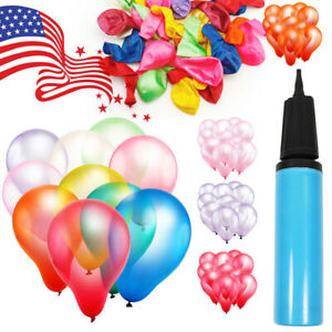 "12"" Premium Latex Balloon 100pcs all Color Birthday Wedding Party Decoration USA"