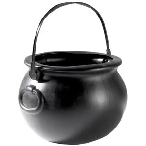 Witches Cauldron Childrens Halloween Trick Or Treating Culdron 15cm