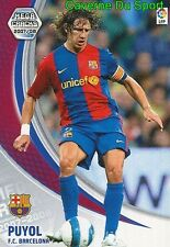 060 CARLES PUYOL ESPANA FC.BARCELONA TARJETA CARD MEGA CRACKS LIGA 2008 PANINI