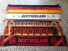 A1 Lote 5 Bufandas Alemania Fútbol Federation Fútbol Bufanda Germany Lot