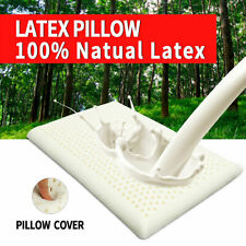 1 Pcs Natural Latex Standard Memory Foam Pillow Neck Health 100% Natural Latex