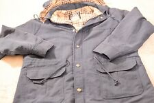 Vintage Womens Woolrich Coat Plaid Lining Large