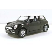 Kinsmart Mini Cooper 1:28 Diecast Toy Car Black KD5042D
