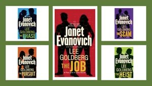 "Lot of 5 ""Fox & O'Hare Hardcover Series by Janet Evanovich & Lee Goldberg"