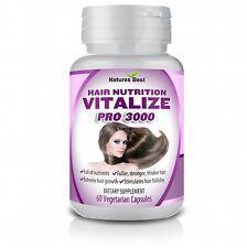 WOMENS HAIR RE GROWTH ANTI LOSS TREATMENT PILLS NUTRITION GROW NAILS 60 CAPSULES