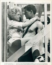 Actors Mimsy Farmer James MacAurthur in Spencer's Mountain Press Photo