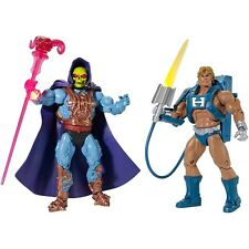 MOTUC Laser Power He-Man & Laser Light Skeletor Masters of the Universe Classics