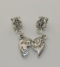 Best Friend Heart Charm