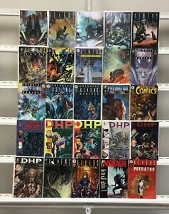 Aliens Predator Dark Horse 25 Lot Comic Book Comics Set Run Collection Box2