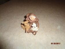 """Friar Folk Figure 3"""" Maureen Carlson Let There Be Peace 2006 Retired Excellent"""