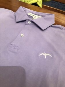 RARE RARE NWOT Tara Iti Golf Club Polo Holderness & Bourne Sz M Color Lavender