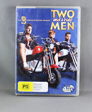 "TWO AND A HALF MEN ""THE COMPLETE SECOND SEASON"" (4 x DISC DVD SET) R4 PAL"