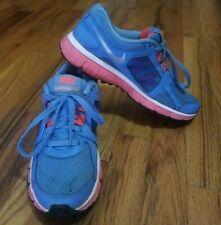 Nike Dual Fusion ST2 Women's Shoes Sneakers Size 7 Blue Pink Running Walking