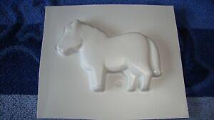 Pony Form Giessform,   Länge:7 cm