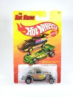 2011 Hot Wheels The Hot Ones 3-Window '34 Ford 1/64 Scale Diecast NEW NOC