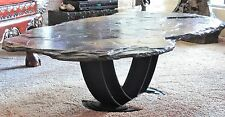Hand-crafted Yosemite Flagstaff coffee table.  One-of-a-kind. Fred Hull artist