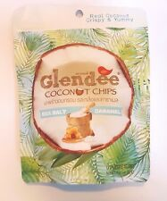 COCONUT Snack from THAILAND - Crispy Real Thai Coconut chips -Sea Salt & Caramel