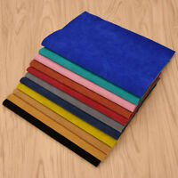 A4 Synthetic Leather Velour Fabric Sheet DIY Handbag Sewing Material Supplies