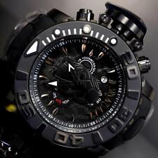 Invicta Sea Hunter II Marvel Black Panther 70mm Chronograph Swiss Mvt Watch New