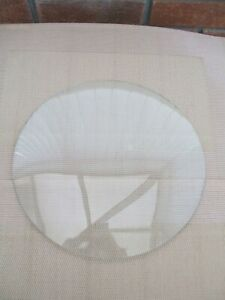 LARGE CONVEX CLOCK GLASS 11 INCH