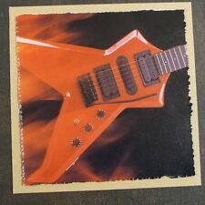 "POP-KARD feat. WESTONE ELECTRIC GUITAR - DETAIL , 6x6"" greeting card aag"