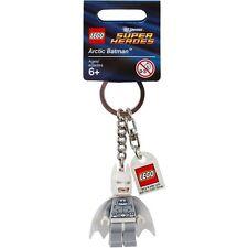 LEGO Super Heroes- Arctic Batman Keychain/ Key ring - NEW