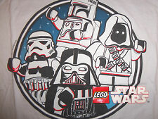 Star Wars Lego Villans Dark Side Jawa Darth Vader Boba Fett Graphic TShirt XL