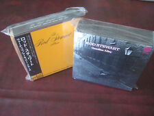 ROD STEWART MERCURY YEARS RARE 1969-74 JAPAN 6 REPLICA LP OBI CD BoxSet+bonusBOX