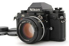 "FedEx ""N.MINT+"" Nikon F3 SLR Film Camera+ Ai-s Nikkor 50mm f1.4 MF Lens w/Case"