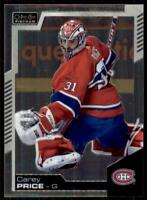 2020-21 UD O-Pee-Chee Platinum Preview Base #P-CP Carey Price