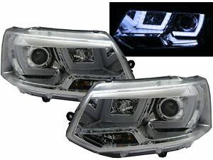 VW Caravelle mk4 55 W Tint Xenon HID High//Low Beam Lumineuse Lampe Bulbs Pair