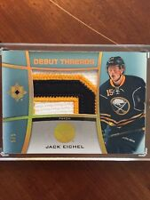 15-16 UD Ultimate Hockey Debut Threads Patch Jack Eichel DT-JE 5/5 Sick Wow!!!
