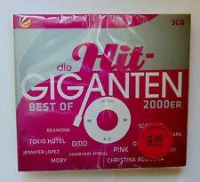 HIT-GIGANTEN BEST OF 2000er  3CD-Box, neu, ocp