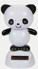 Solar Powered Dancing Panda Bobblehead Toys New US Seller One Day Shipping NWT