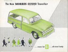 MORRIS Oxford Serie II VIAGGIATORE 1954-55 originale UK FOLDOUT opuscolo h&e 5480