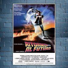 Film Poster Back To The Future - Ritorno Al Futuro - 70x100 CM