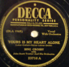 Bing Crosby 78 RPM Music Records for sale | eBay