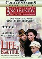 Life Is Beautiful (Dvd, 1999)- Roberto Benigni, Nicoletta Braschi-Region 1 - New