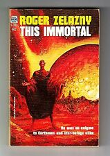 THIS IMMORTAL (SIGNED by Roger Zelazny/1st US/PBO/artist Gray Morrow)