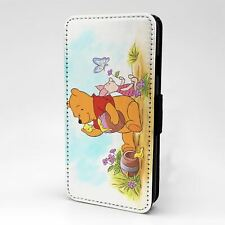 For Apple iPod Touch Flip Case Cover Winnie The Pooh Piglet - G1332