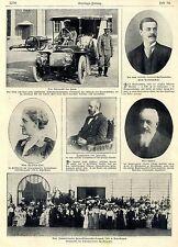 Das Automobil des russischen Zaren u.a. historische Aufnahmen von 1906