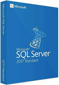 SQL Server 2017 Standard License Key MS 24 CPU Cores Genuine